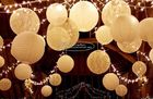 China Carved Round Hanging Paper Lanterns Indoor For Party Decoration company
