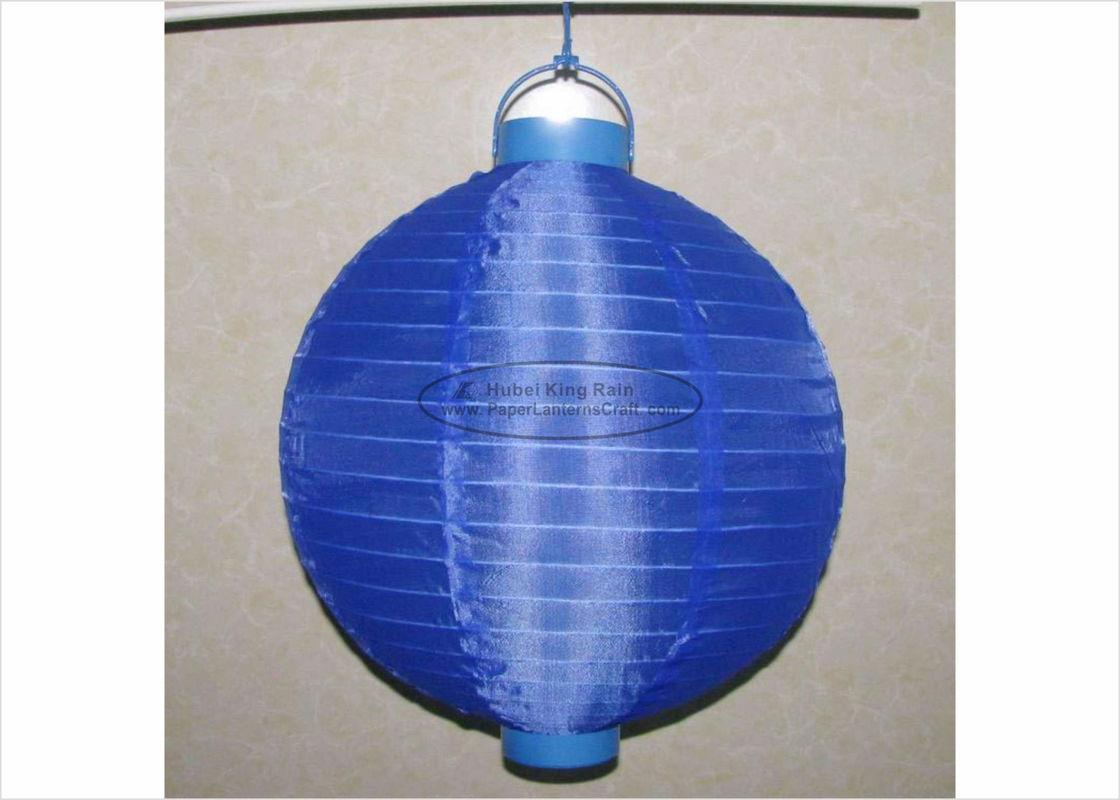 30 cm led paper lanterns battery operated silk nylon fabric